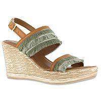 Tuscany by Easy Street Zaira Women's Wedge Sandals