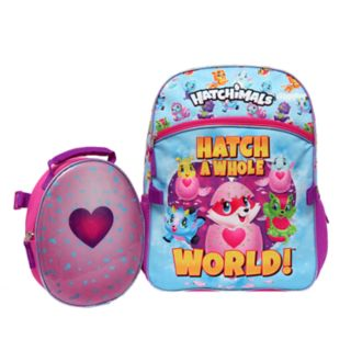 """Kids Hatchimals """"Hatch A Whole World"""" Backpack & Lunch Tote Set"""