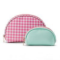 LC Lauren Conrad Dome Cosmetic Bags Set