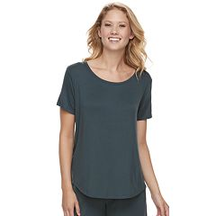 Women's SONOMA Goods for Life™ Pleated Crewneck Tee