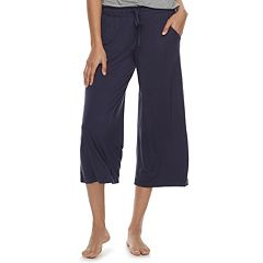 Women's SONOMA Goods for Life™ Printed Crop Pajama Pants