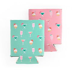 LC Lauren Conrad 2-pc. Cocktail Koozie Set