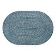 SONOMA Goods for Life? Braided Cotton Reversible Solid Oval Rug