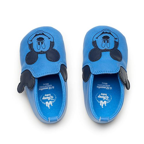 98ec0a386f27 Disney s Mickey Mouse Baby Boy Crib Shoes