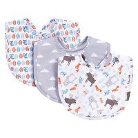 Trend Lab Scandi Forest 3-Pack Bib Set