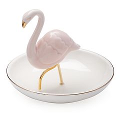 LC Lauren Conrad Ceramic Flamingo Trinket Tray