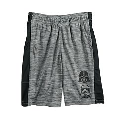 Boys 4-7x Star Wars a Collection for Kohl's Darth Vader & Storm Trooper Marled Athletic Shorts