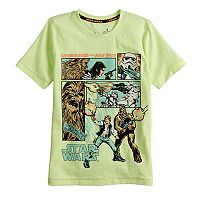 Boys 4-7x Star Wars a Collection for Kohl's Hans Solo and Chewie Tee