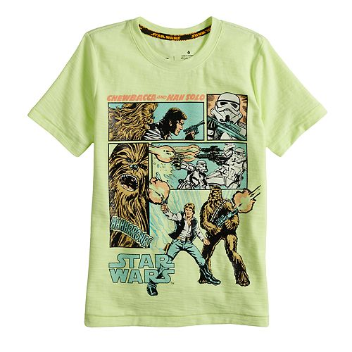 Boys 4-7x Star Wars a Collection for Kohl's Han Solo and Chewie Tee