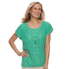 Women's Alfred Dunner Studio Lace Top