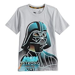 Boys 4-7x Star Wars a Collection for Kohl's 'The Force Is Strong With This One' Darth Vader Tee