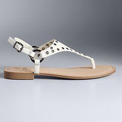 Simply Vera Vera Wang Fireworks Women's Sandals
