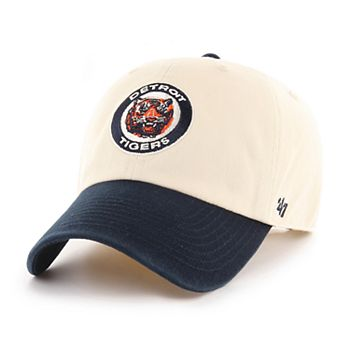 newest 9fb7f e02ae Adult  47 Brand Detroit Tigers Clean Up Natural Hat ...