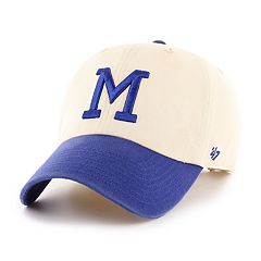 Adult '47 Brand Milwaukee Brewers Clean Up Natural Hat