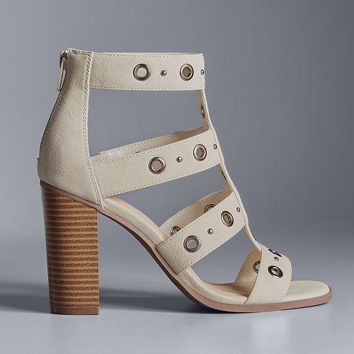 Simply Vera Vera Wang Amsterdam Women's High Heel Sandals