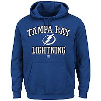 Men's Majestic Tampa Bay Lightning Heart & Soul Hoodie