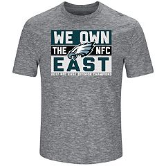 Men's Philadelphia Eagles 2017 NFC East Division Champions Line of Scrimmage Tee