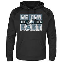Men's Philadelphia Eagles 2017 NFC East Division Champions Armor Hoodie