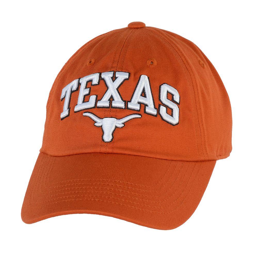 Adult Texas Longhorns Adjustable Cap
