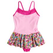 Girls 4-14 Jacques Moret JoJo Siwa Bow Print Pink Skirtall