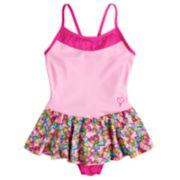Girls 4-14 Jacques Moret JoJo Siwa Bow Print Pink Skirtall