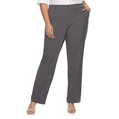 Plus Size Apt. 9® Straight-Leg Pants
