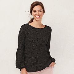 Women's LC Lauren Conrad Blouson Sleeve Top