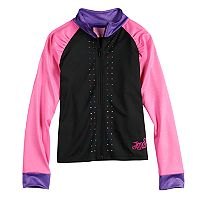 Girls 4-14 Jacques Moret JoJo Siwa Rhinestone Lightweight Performance Jacket