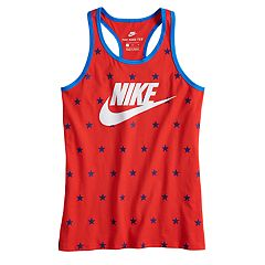 Girls 7-16 Nike World Cup Star Print Racerback Tank Top