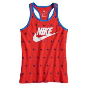 Girls 7-16 Nike World Cup Star Print Racerback Tank Top