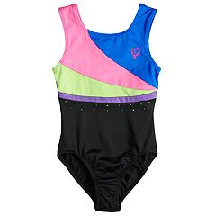 Girls 4-14 Jacques Moret JoJo Siwa Colorblocked Performance Loetard