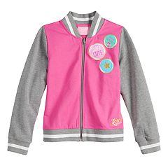 Girls 4-14 JoJo Siwa 'Super Cute' Lightweight Warm-Up Jacket