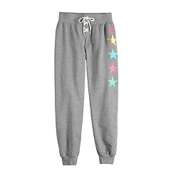 Girls 4-14 Jacques Moret JoJo Siwa Star Warm-Up Jogger Pants