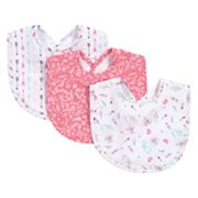 Trend Lab Fox and Feathers 3-Pack Bib Set