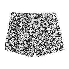 Girls 7-16 & Plus Size SO® Pattern Knit Shorts