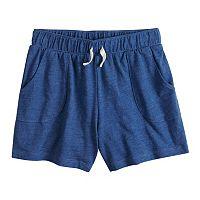 Girls 7-16 & Plus Size SO® Pattern Knit Shorts