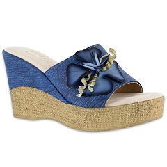 Tuscany by Easy Street Castello Women's Wedge Sandals
