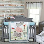 Trend Lab Farm Stack 4 pc Crib Bedding Set