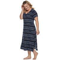 Plus Size SONOMA Goods for Life™ Essential Sleep Tee