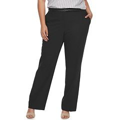 Plus Size Apt. 9® Straight Leg Dress Pants