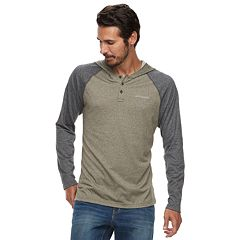 Men's Columbia Wildberry Omni-Wick Colorblock Raglan Hoodie