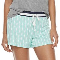 Women's SONOMA Goods for Life™ Printed Pajama Shorts