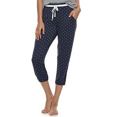 Women's SONOMA Goods for Life™ Diamond Print Jogger Capris