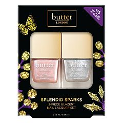 butter LONDON Splendid Sparks 2-Piece Glazen Nail Lacquer Set