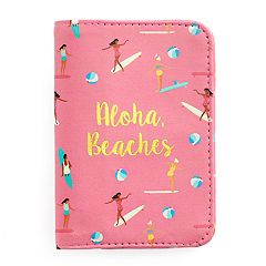 LC Lauren Conrad 'Aloha Beaches' Passport Case