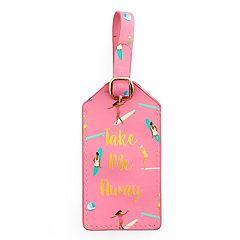 LC Lauren Conrad 'Take Me Away' Luggage Tag