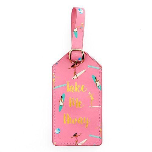 "LC Lauren Conrad ""Take Me Away"" Luggage Tag"
