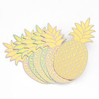 LC Lauren Conrad Pineapple Coaster Set