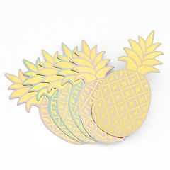 LC Lauren Conrad Pineapple Coaster Set