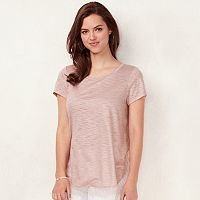 Women's LC Lauren Conrad Lace-Trim Top